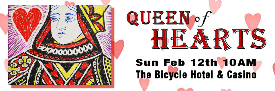 Queen of Hearts - The Bike