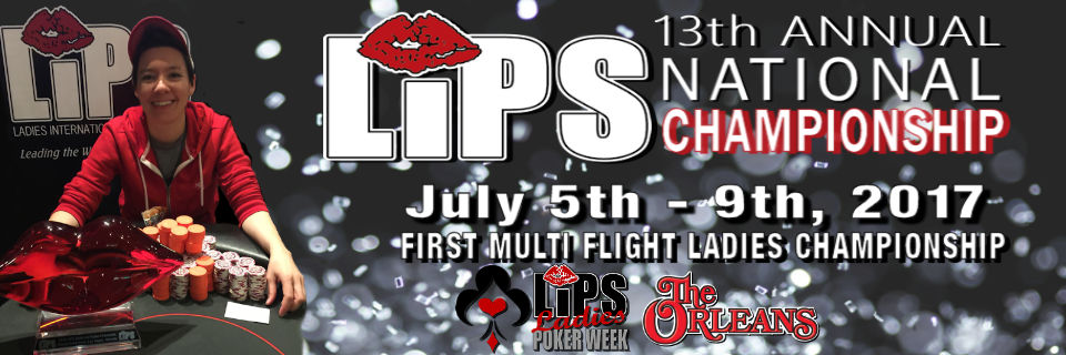 2017 LIPS Ladies Poker Week