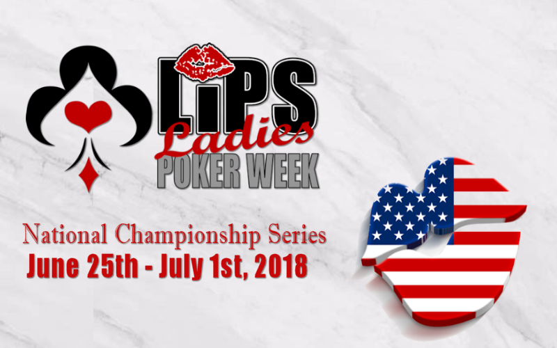 2018 LIPS Ladies Poker Week