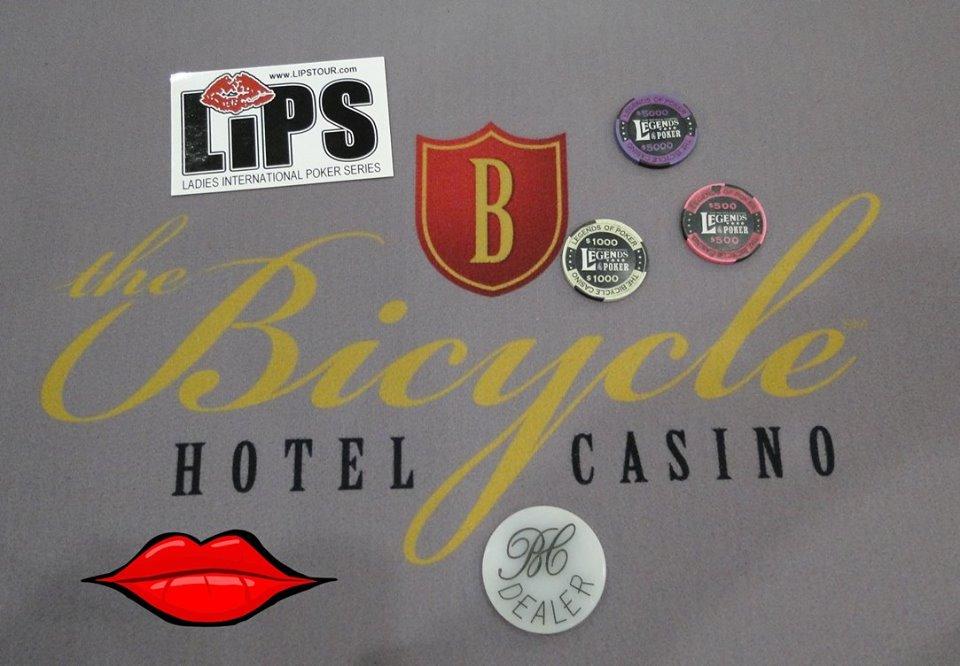 Queen of Diamonds Aug 2017 Bicycle Casino